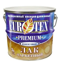 Лак для паркета Eurotex-Premium